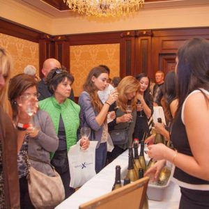 The Simply Wine Festivals lets guests sample dozens of selections.