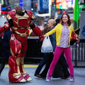 "Tituss Burgess and Ellie Kemper in ""Unbreakable Kimmy Schmidt"""