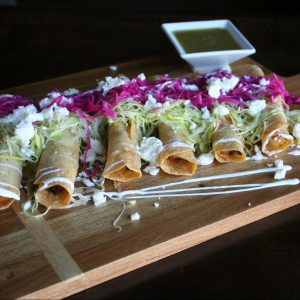 Taquitos at Ceremony