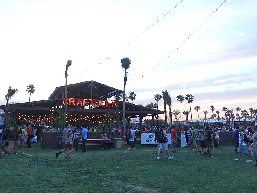 Get your craft beer at Coachella.