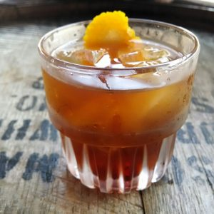 Bigfoot West's $1 Old Fashioned