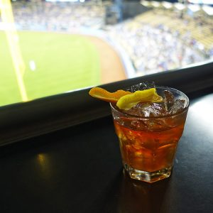 Get an Old Fashioned at Dodger Stadium.