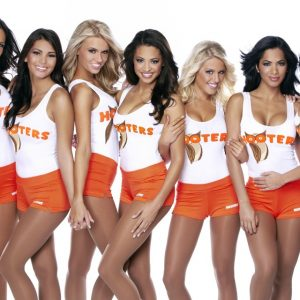 The Palms will get more than its share of Hooters Girls.
