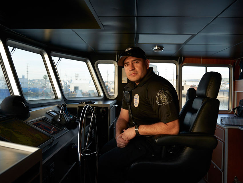 Q a capturing the los angeles port police in action los for La port police