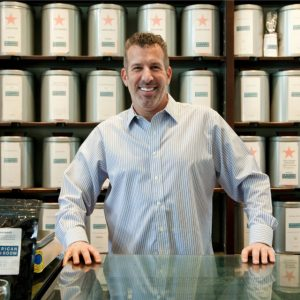 David Barenholtz is always looking for the next great tea.