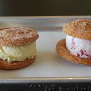 Churro ice cream sandwiches. This is why you are here.