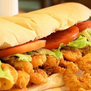 Uncle Darrow's is known for its seafood sandwiches.