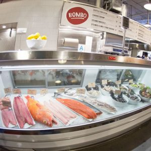 Mark Peel's Bombo has added a sustainable fish market
