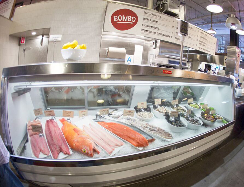 Go fish grand central market now has a fresh seafood for La fish market