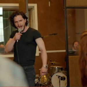 Jon Snow (aka Kit Harington) rockin' out