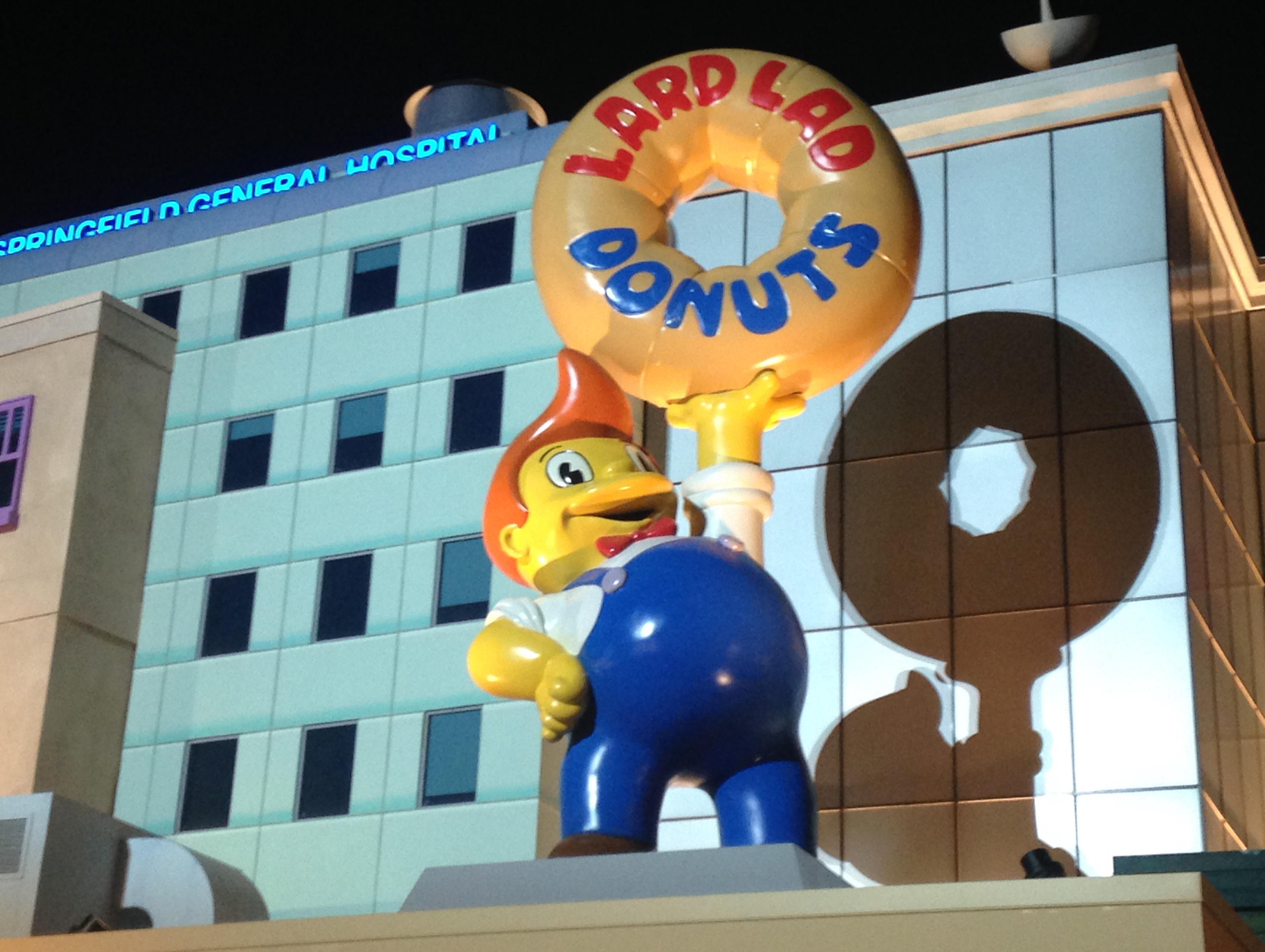 Inside the New Simpsons World at Universal Studios Los Angeles Magazine