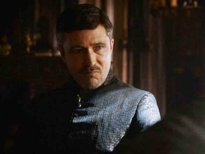 "Aiden Gillen as Petyr ""Littlefinger"" Balish on ""Game of Thrones"""