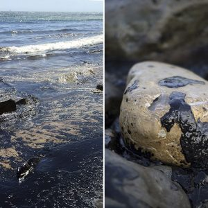 Oil Spill Near Santa Barbara