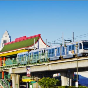 The Gold Line's Chinatown station