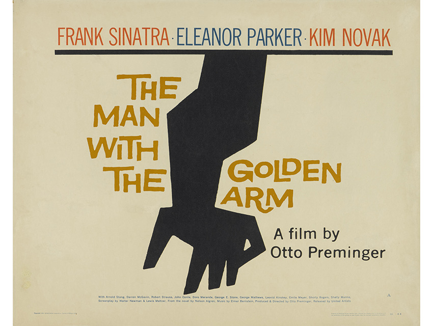 saul bass movie poster collection goes to auction