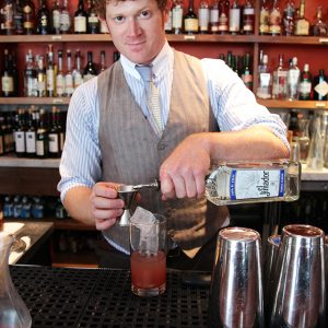 Bartender Justin Pike has thought a lot about which superpower he wants.