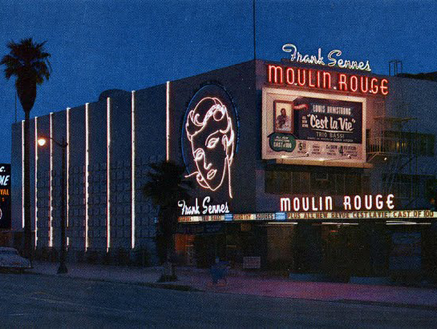 The Moulin Rouge in 1961