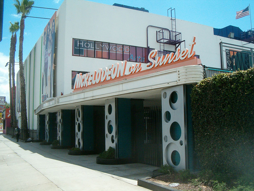 Nickelodeon Studios in 2014