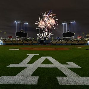 There will be more America than you can handle at Dodger Stadium Friday night, where our nation's pastime will be punctuated by Independence Day fireworks.