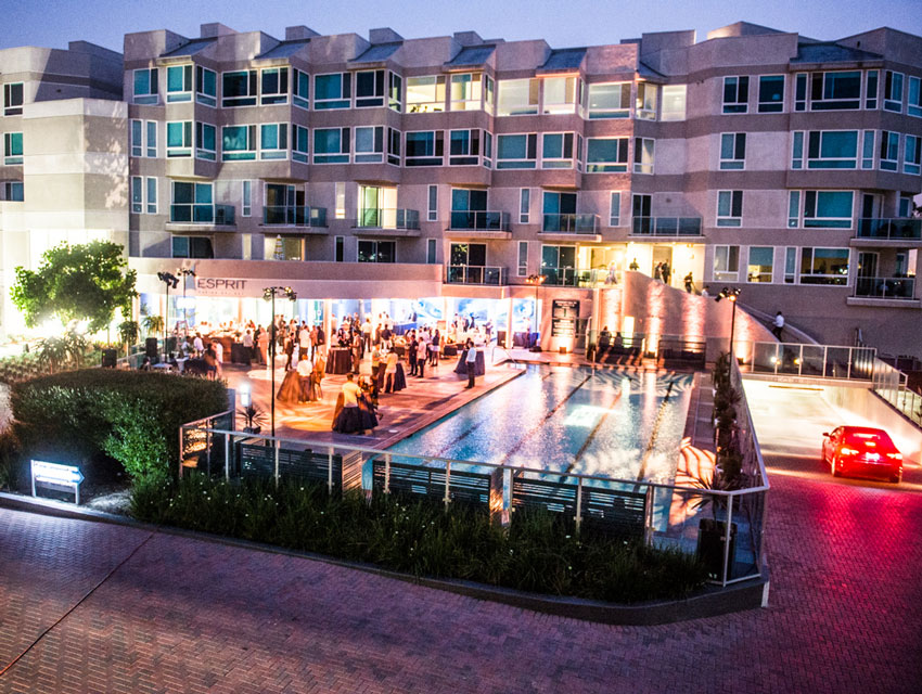 Celebration of the grand re-opening of Esprit Marina del Rey