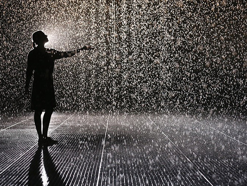 Quot Rain Room Quot Comes To Lacma This Fall