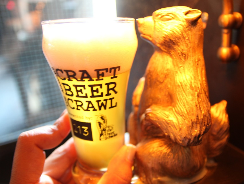 The annual LA Craft Beer Crawl returns to the Gopher, but not Cana or Broadway Bar.
