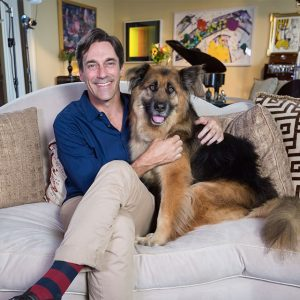 Jon Hamm and Ruby