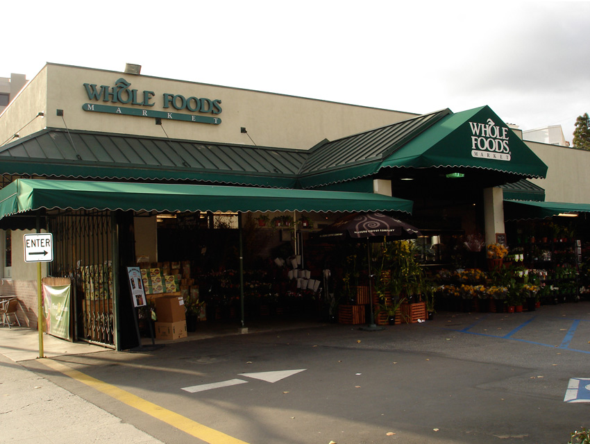 Grading the parking lots of whole foods brentwood santa for Lax long term parking lot