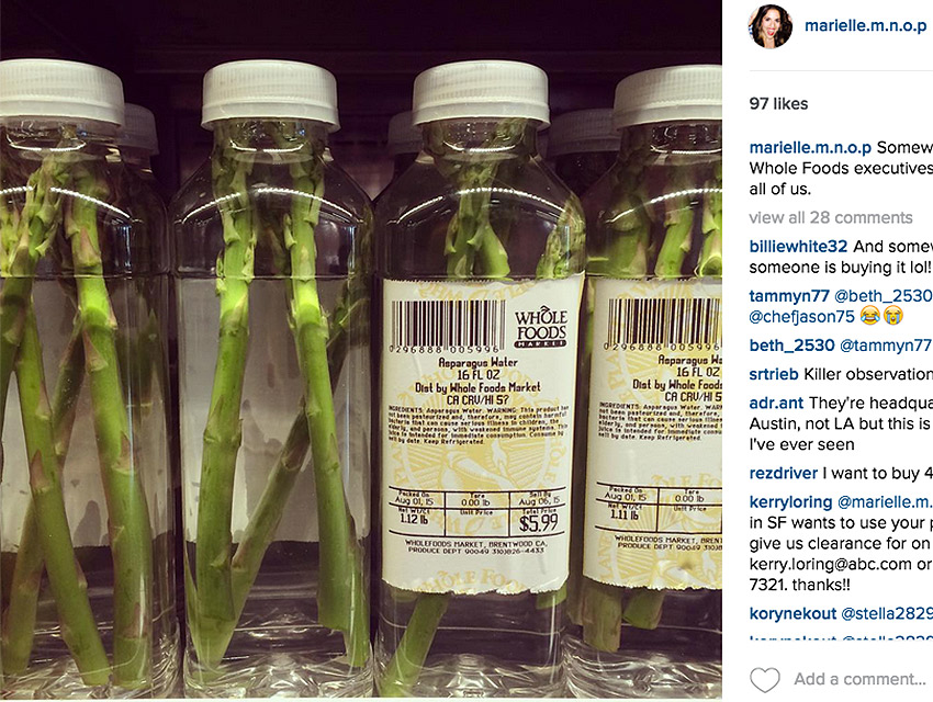 I Started The Asparagus Water Scandal That Has The