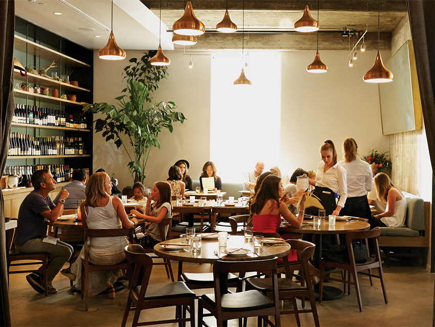 A side room in a sprawling space that dwarfs Ng's previous restaurant, the Spice Table