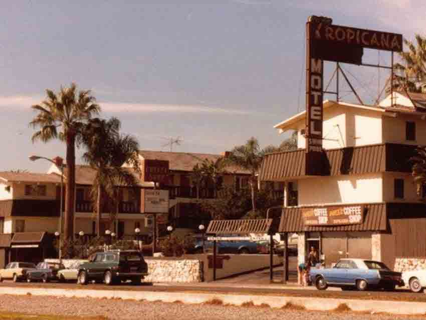 The Tropicana In 1981 Photograph Courtesy Michael Charles