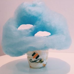 CremeBee's Cloud 9 includes cotton candy and cloud-shaped marshmallows