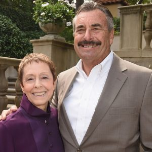 Rape Foundation President Gail Abarbanel and LAPD Chief Charlie Beck attended The Rape Foundation Annual Brunch on October 4th, 2015 in Beverly Hills, CA.