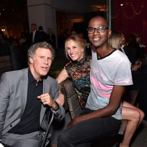 Will Ferrell, Julia Roberts, and Mark Bradford