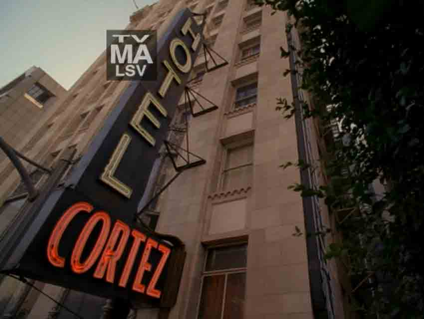 "A screen grab from ""American Horror Story: Hotel"""