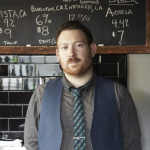 Matt Kaner, the man behind Bar Covell and AM/FM wines