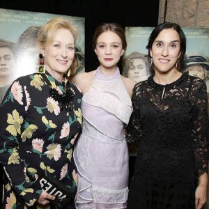 Meryl Streep, Carey Mulligan, and Director Sarah Gavron