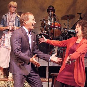 "Rex Smith and Gretchen Cryer in ""I'm Still Getting My Act Together"""