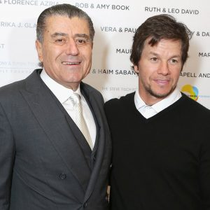 Haim Saban and Mark Wahlberg at Friends of the Israel Defense Forces Gala which supports educational, social, cultural, and economic services for Israel's soldiers and the families of fallen soldiers