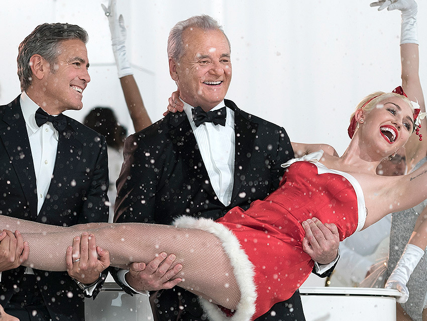 "Bill Murray, Miley Cyrus, and George Clooney are just three of many stars in ""A Very Murray Christmas"""