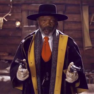 A screen capture from the Hateful Eight trailer
