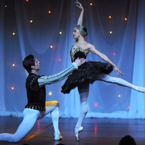 Alexandre Hammoudi and Misty Copeland