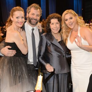 Leslie Mann, Judd Apatow, Lily Tomlin, and Amy Schumer