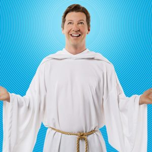 Sean Hayes holds the titular role in An Act of God