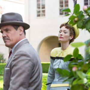 "JOSH BROLIN and TILDA SWINTON in ""Hail, Caesar!,"" an all-star comedy from four-time Oscar?-winning filmmakers Joel and Ethan Coen.  Set during the latter years of Hollywood?s Golden Age, the film follows a single day in the life of a studio fixer who is presented with plenty of problems to fix."