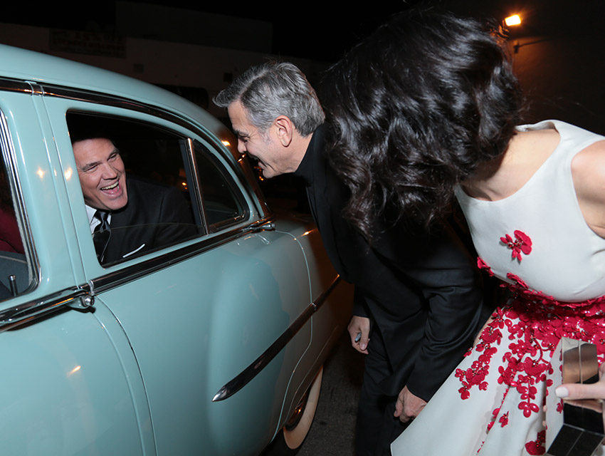 George Clooney and Amal Clooney at the Hail Caesar Premiere LA - Page 2 Hail1