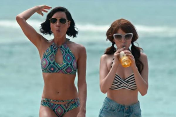 "Aubrey Plaza and Anna Kendrick in ""Mike and Dave Need Wedding Dates"""