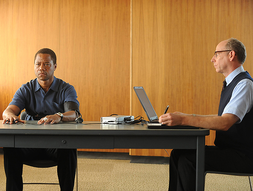 Cuba Gooding Jr. stars as O.J. Simpson