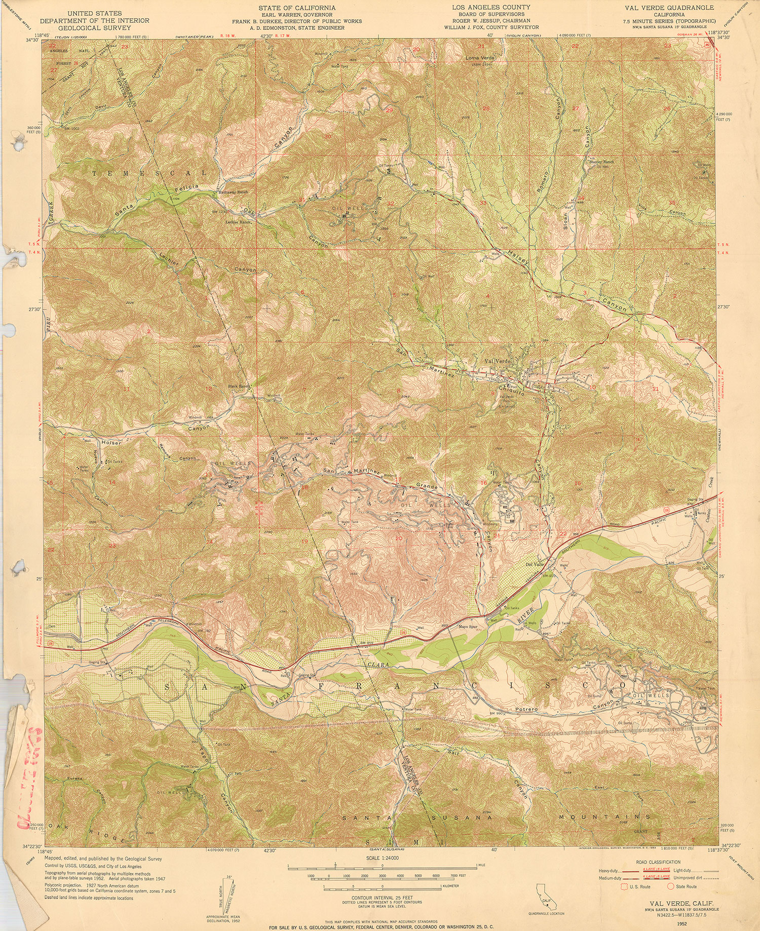World And USA Maps For Sale Buy Maps Mapscom World And USA Maps - Los angeles california map united states