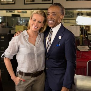 Chelsea and her new BFF, Rev. Al Sharpton